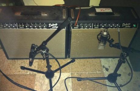 מגברי הגיטרה עליהם הקלטתי ב״המראות ונחיתות״